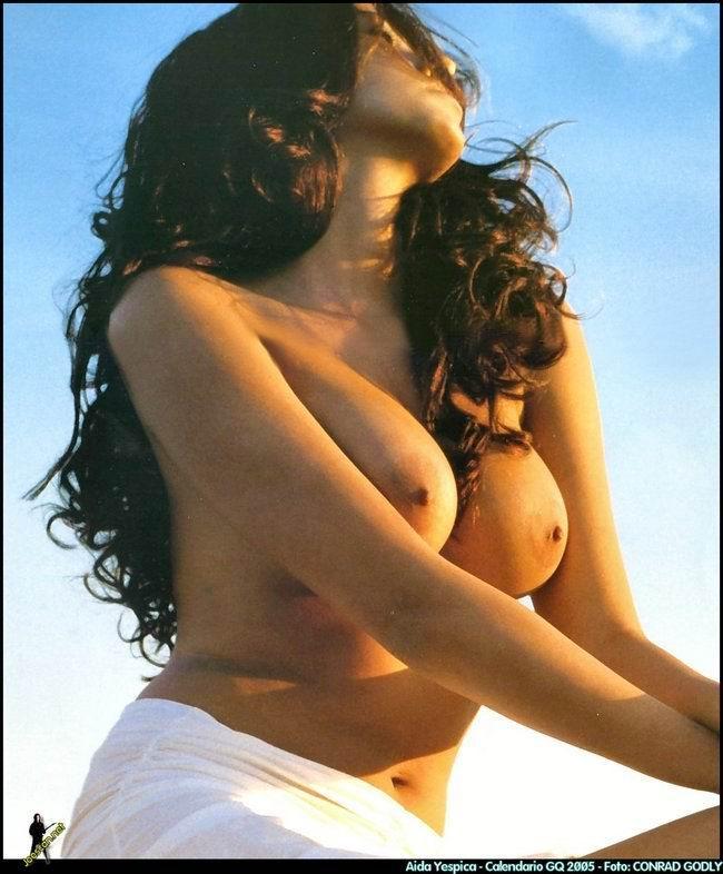 Aida Yespica sin censura