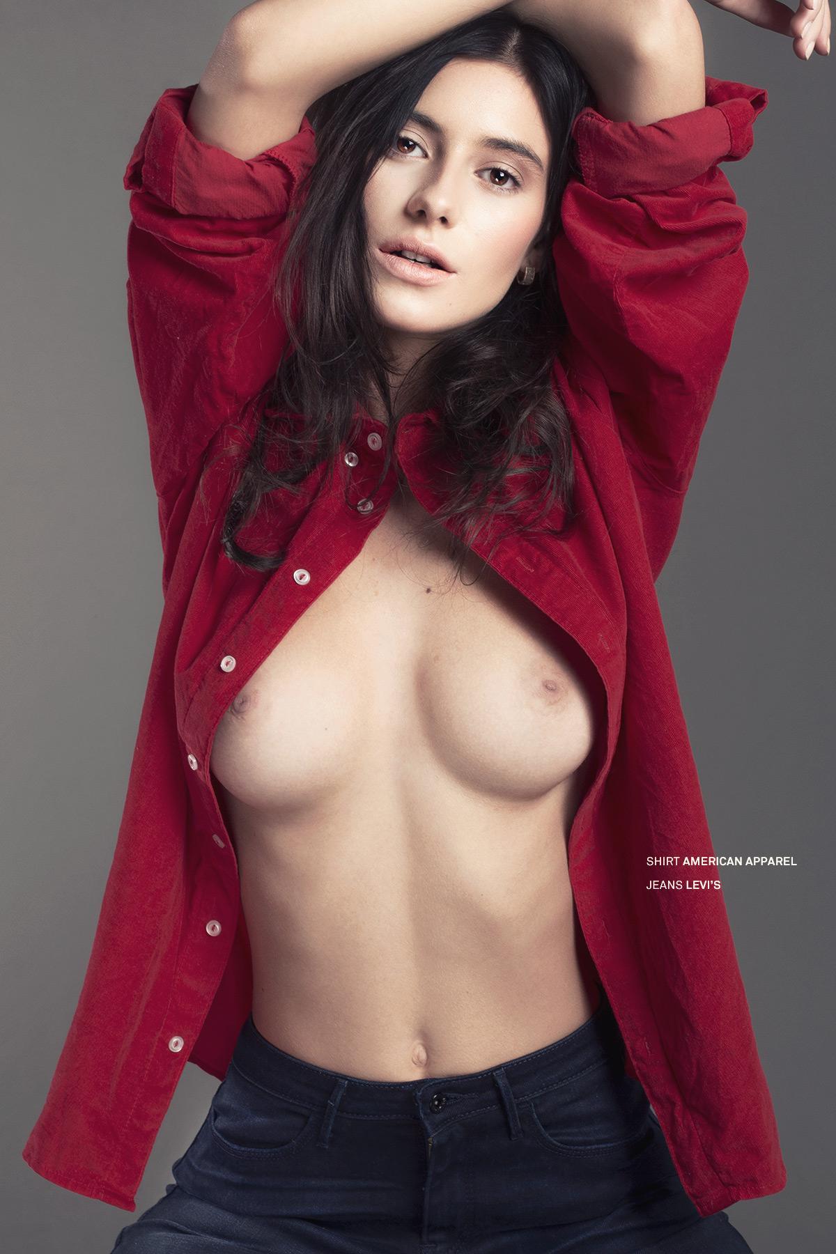 Alejandra Guilmant desnudarse