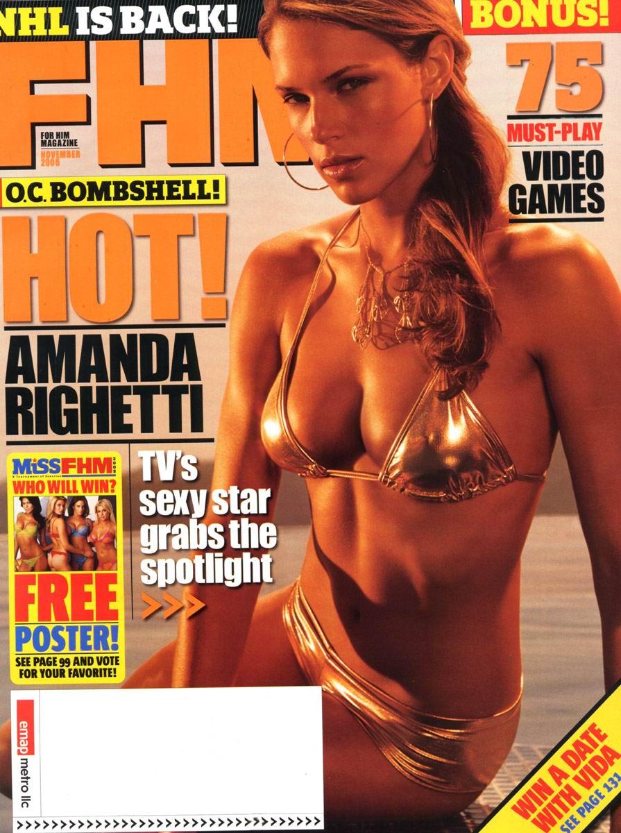 Amanda Righetti cachondas