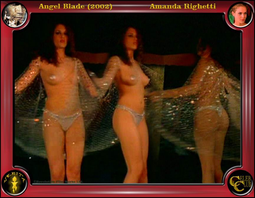 Amanda Righetti culonas