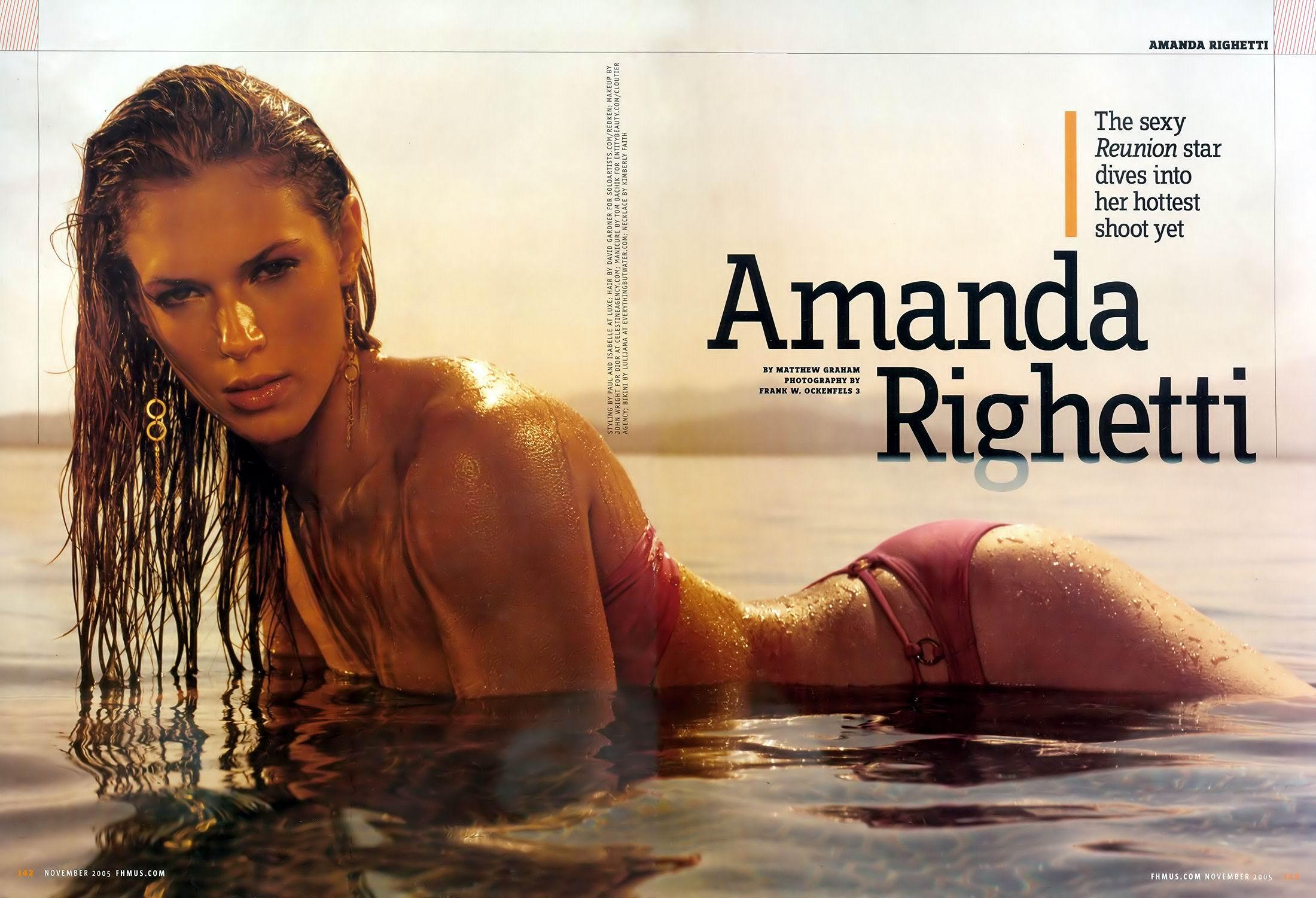 Amanda Righetti fotos calientes
