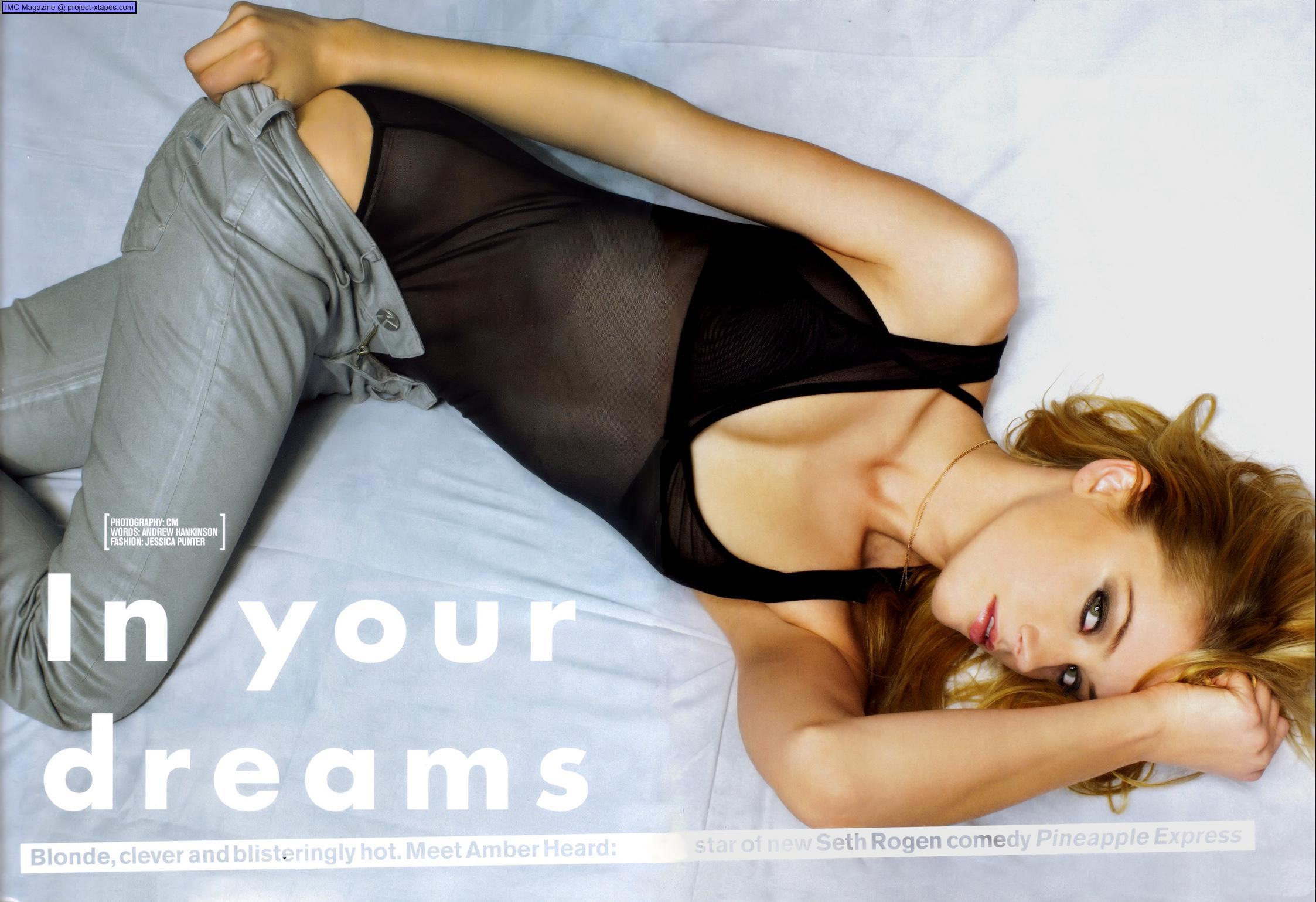 Amber Heard cojuendo 1