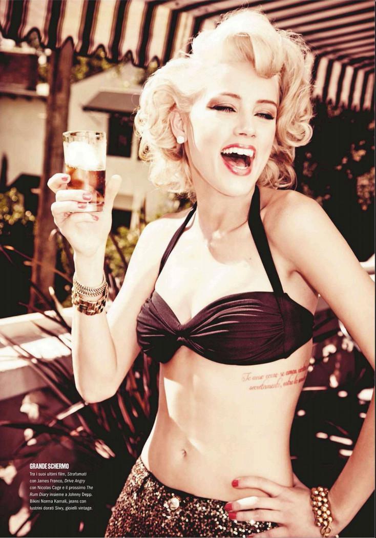Amber Heard desnuda porno