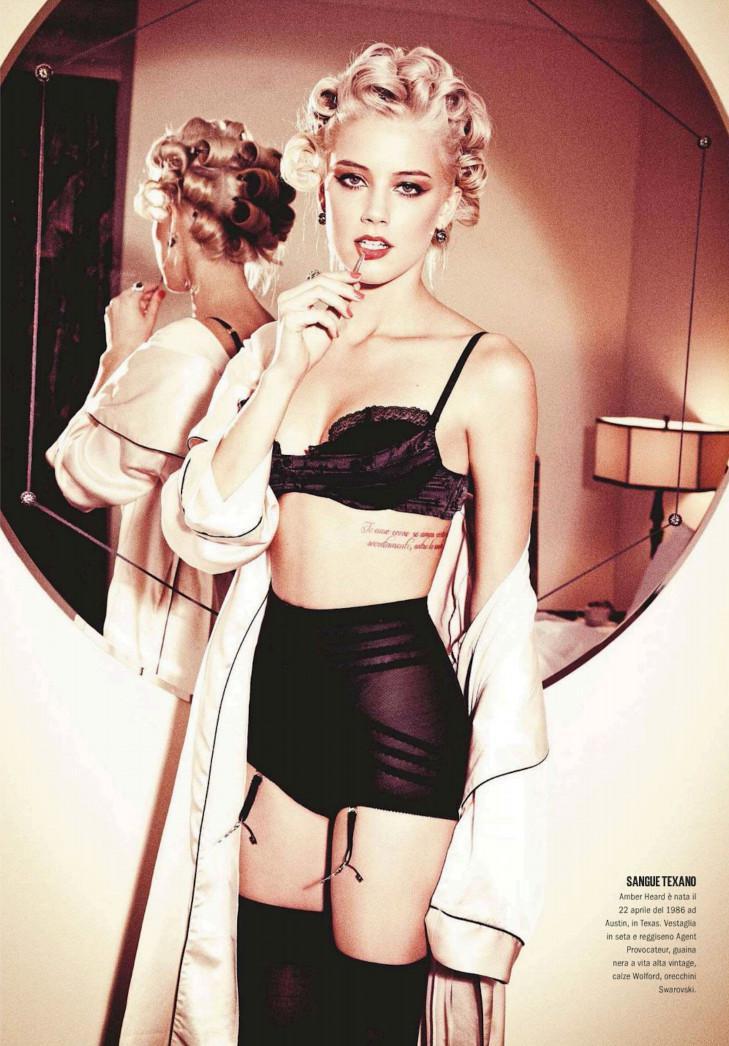 Amber Heard tetonas