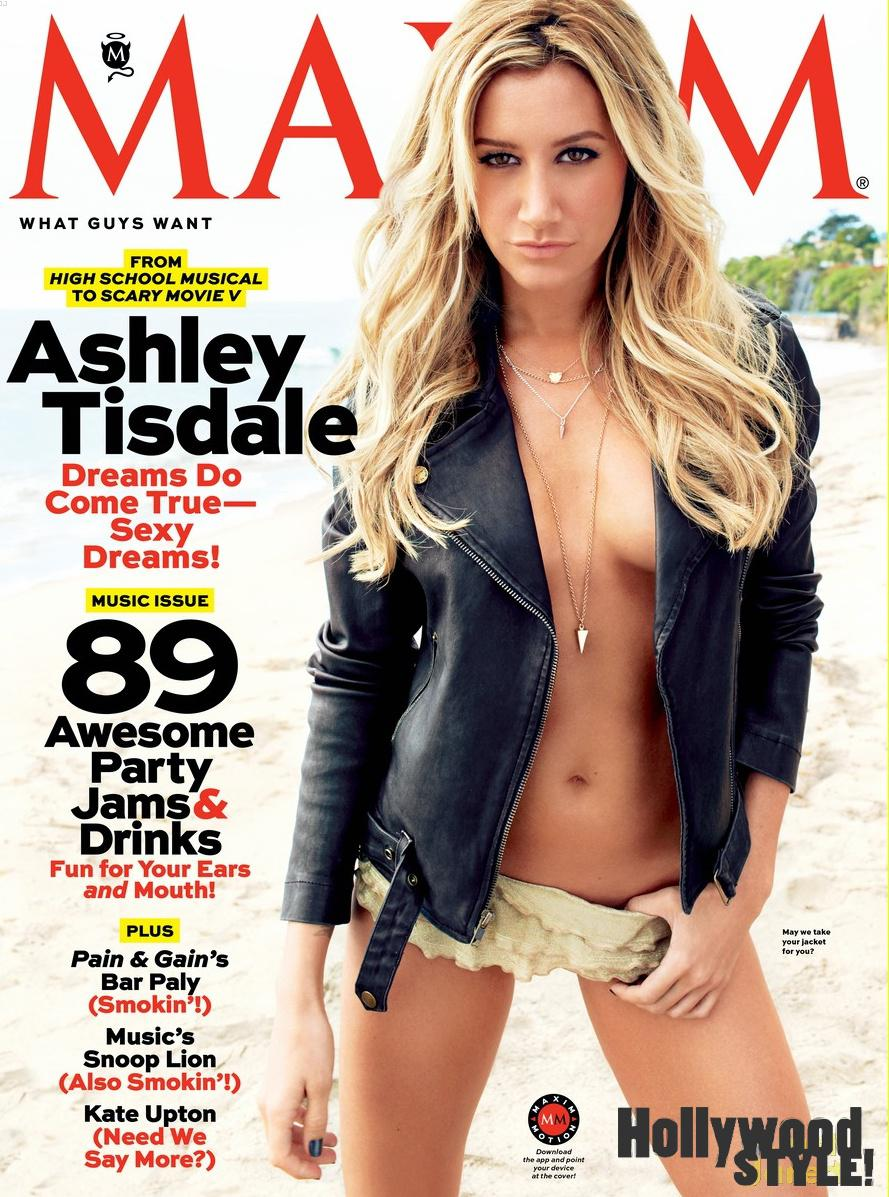 Ashley Tisdale pillada desnuda