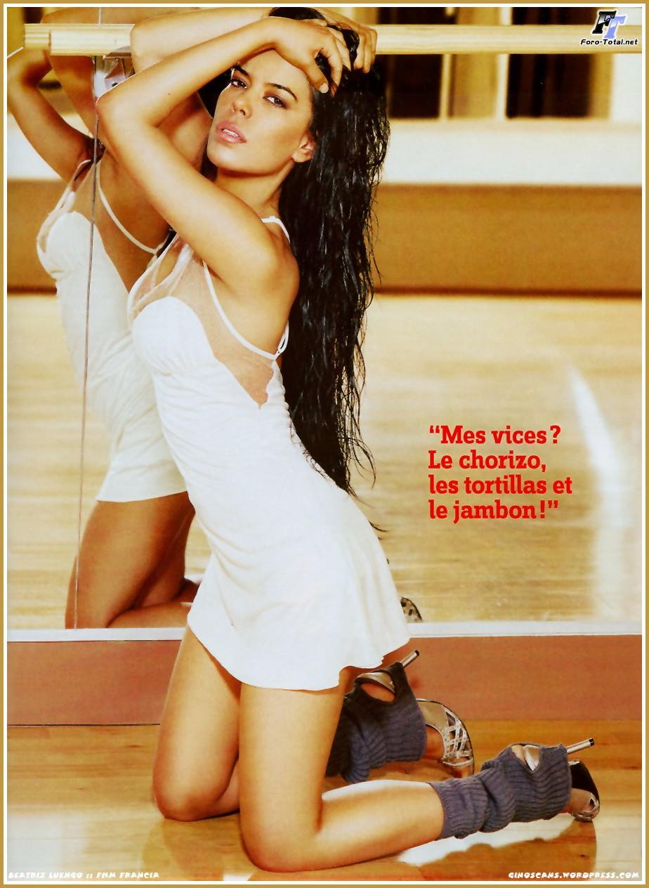 Beatriz Luengo desnuda película