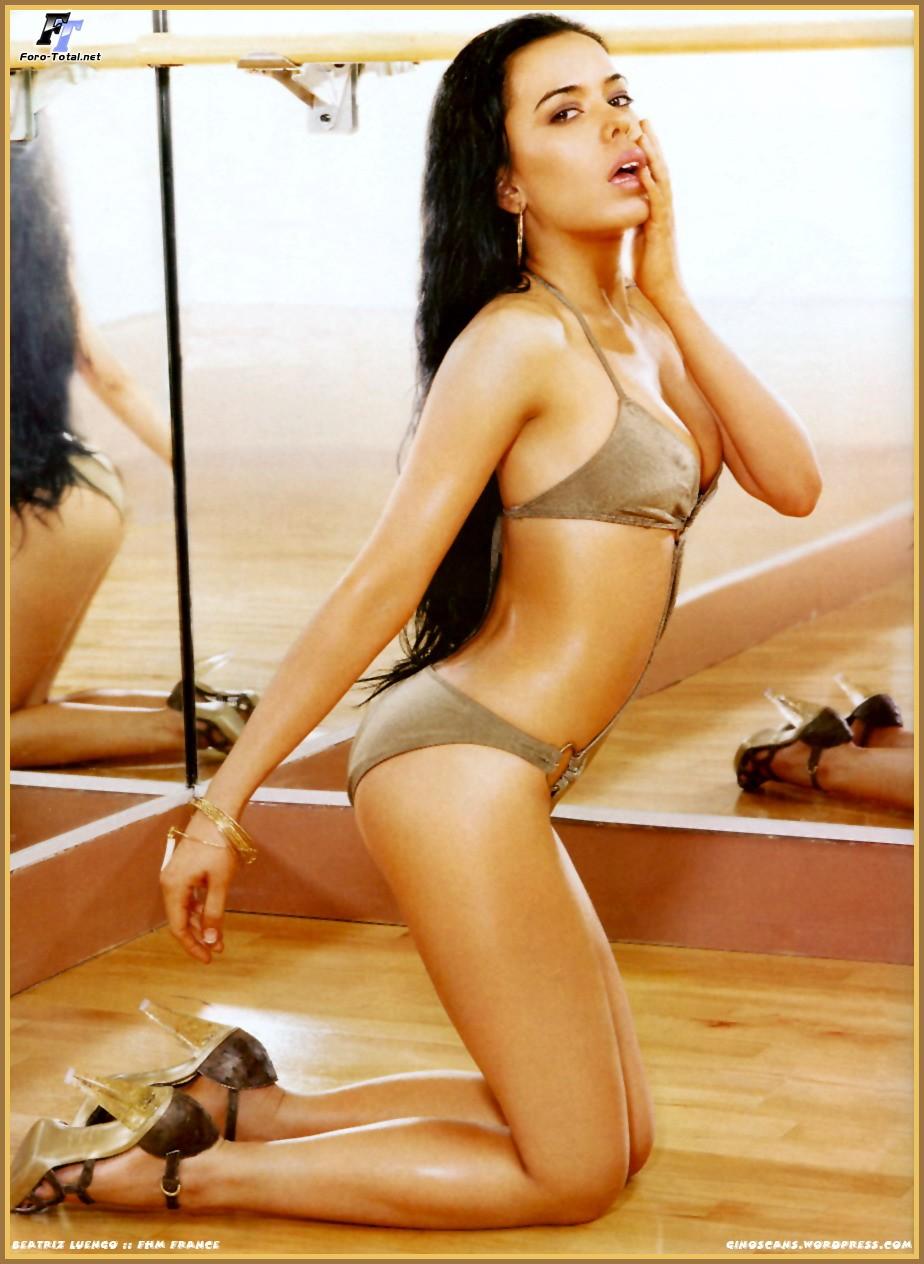 Beatriz Luengo sin ropa interior
