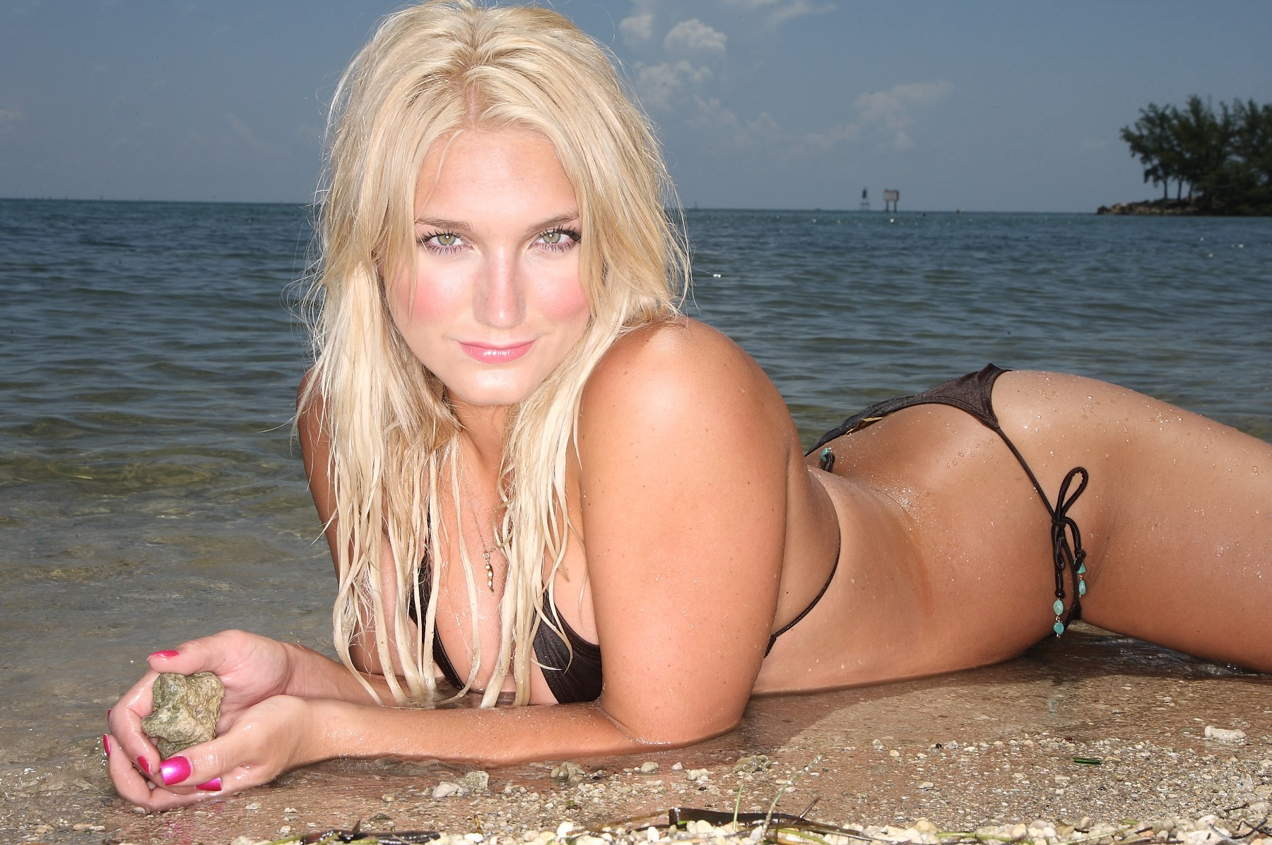 Brooke Hogan calientes