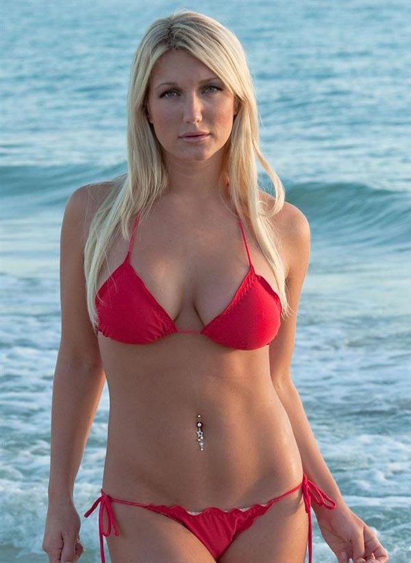 Brooke Hogan desnuda coño 1