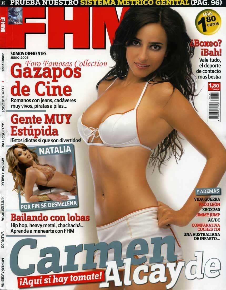 Carmen Alcayde facial en la cara