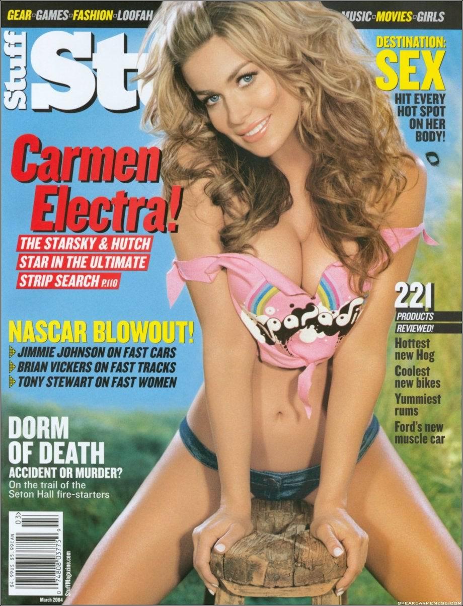 Carmen Electra concha