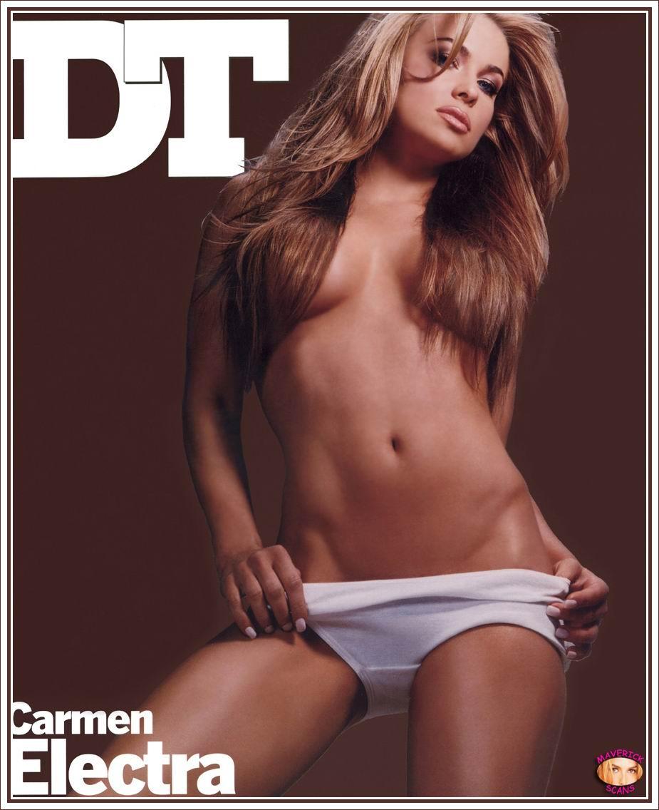 Carmen Electra desnudos