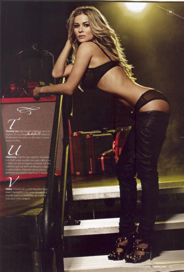 Carmen Electra famosas desnudas fotos