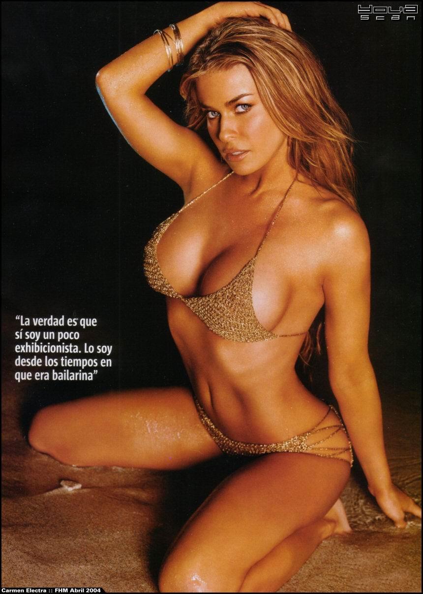 Carmen Electra sexuales