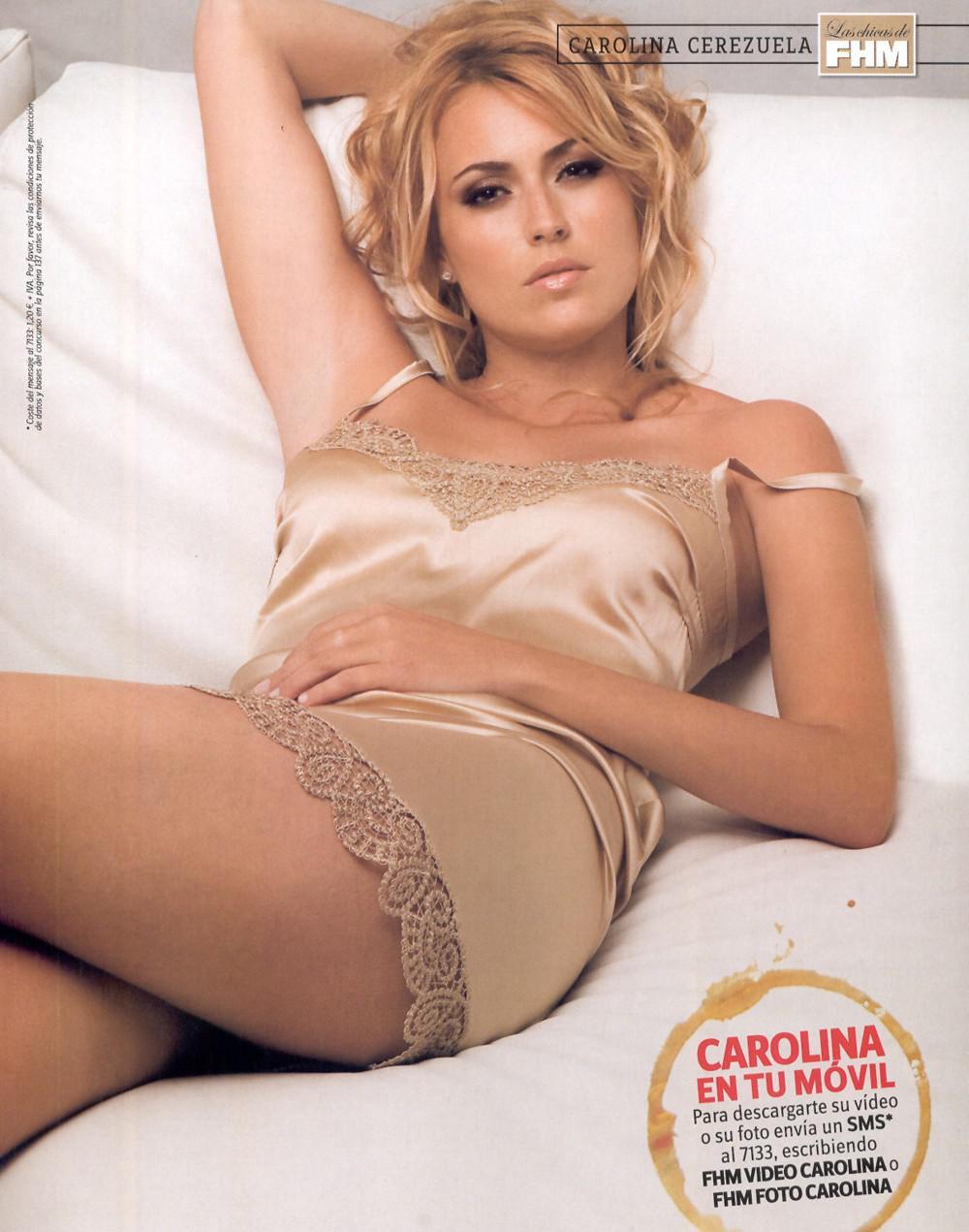 Carolina Cerezuela famosas xxx