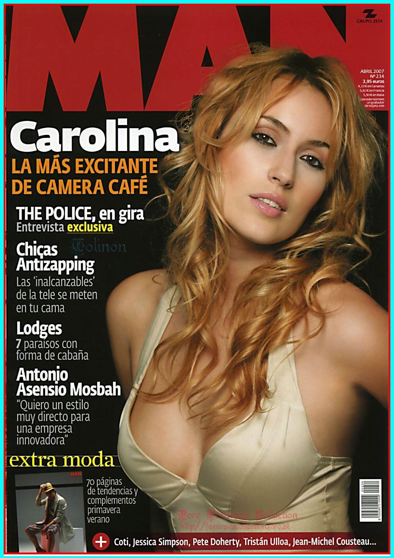 Carolina Cerezuela pillada desnuda