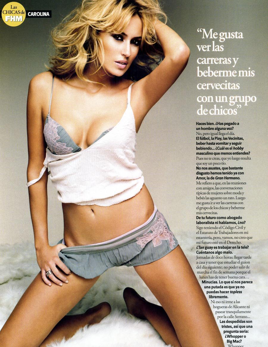 Carolina Cerezuela sexo