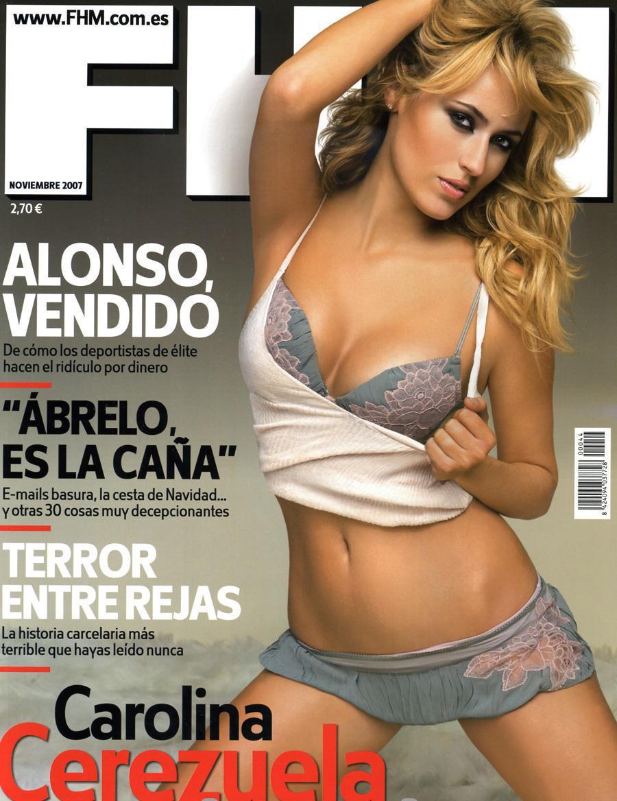 Carolina Cerezuela vídeo porno