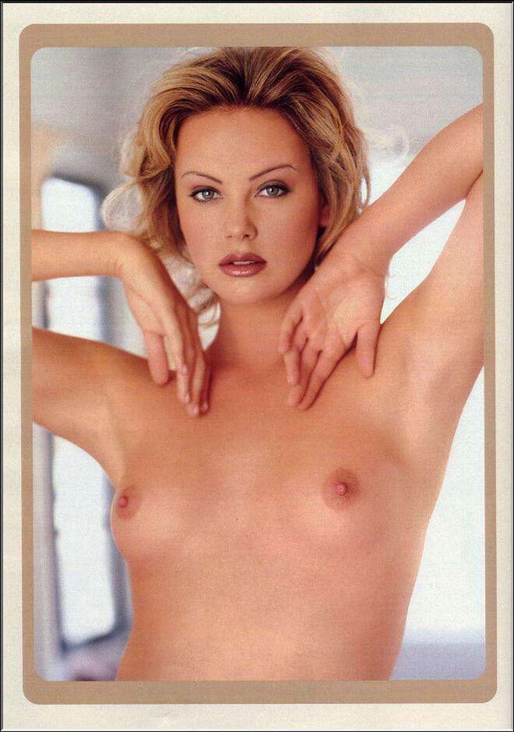 Charlize Theron coño
