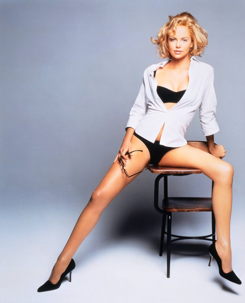 Charlize Theron guapas
