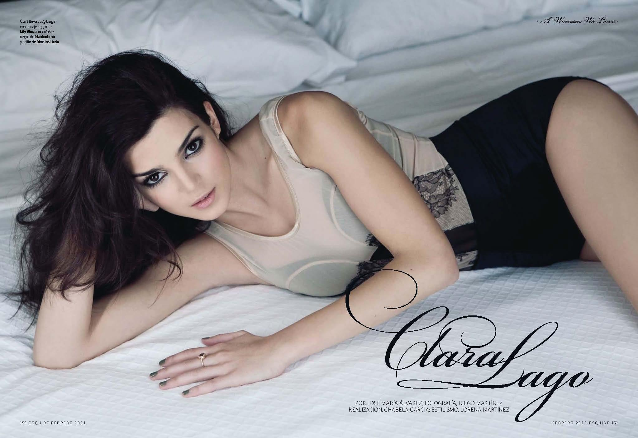 Clara Lago caliente