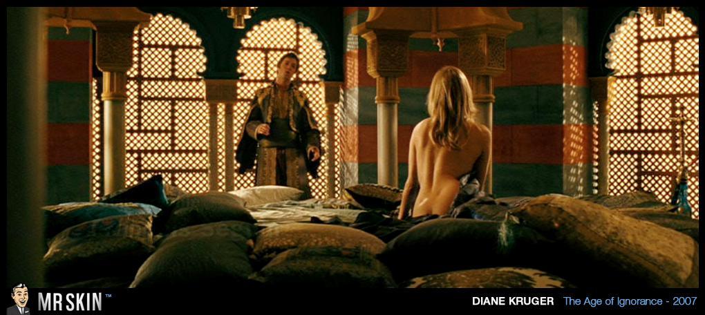 Diane Kruger dedos