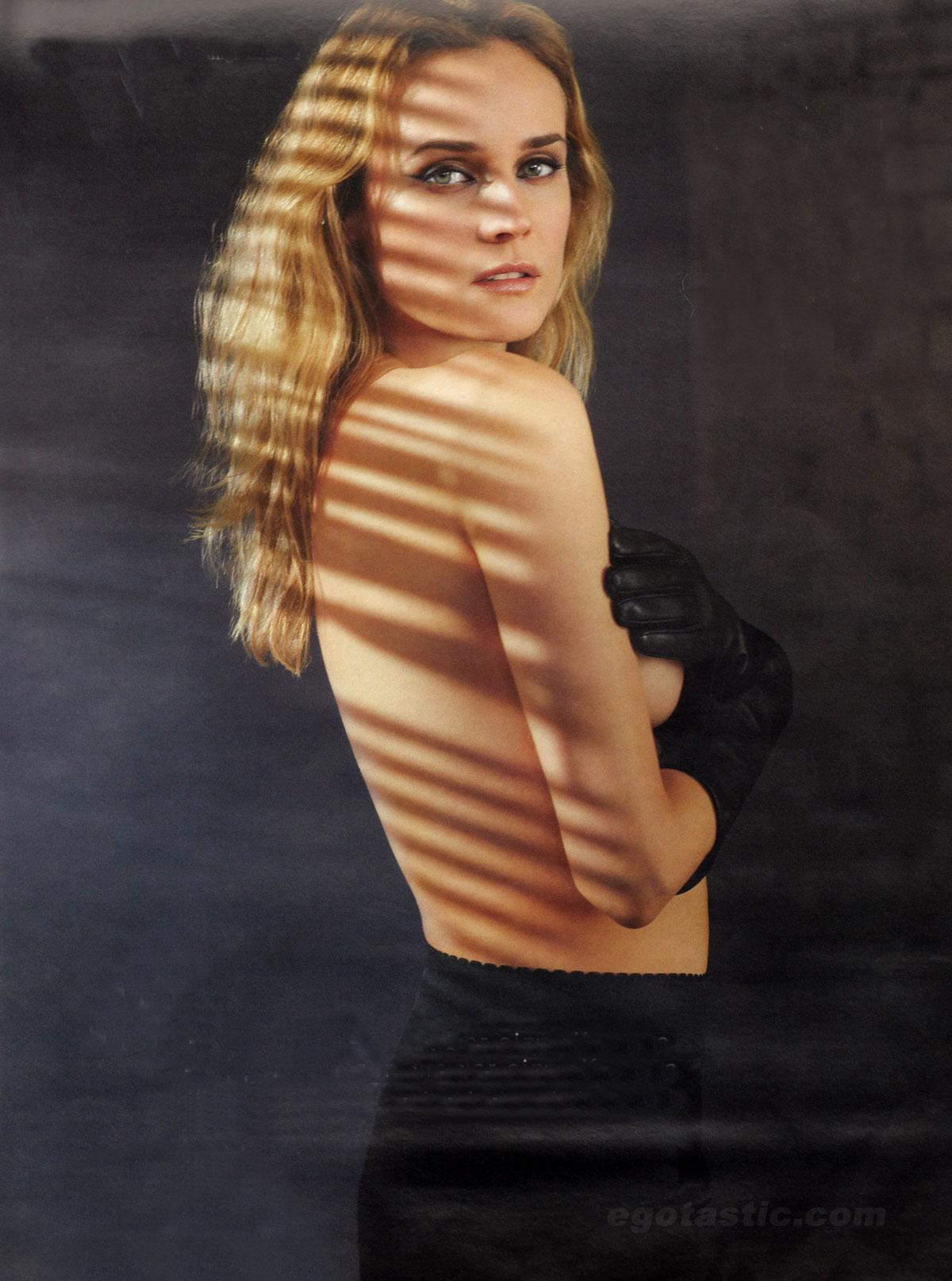 Diane Kruger delante