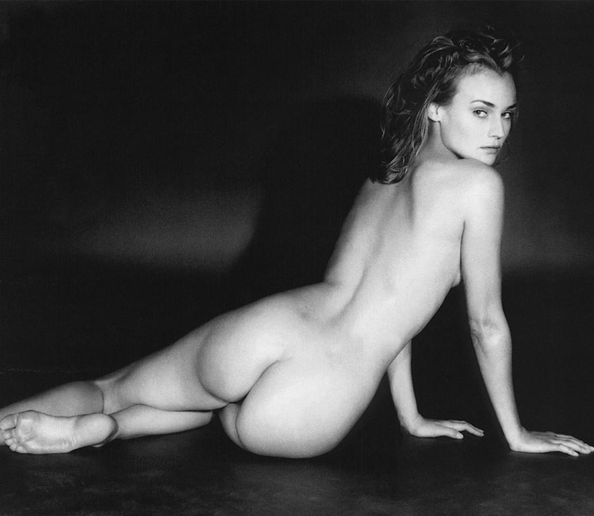 Diane Kruger facial en la cara