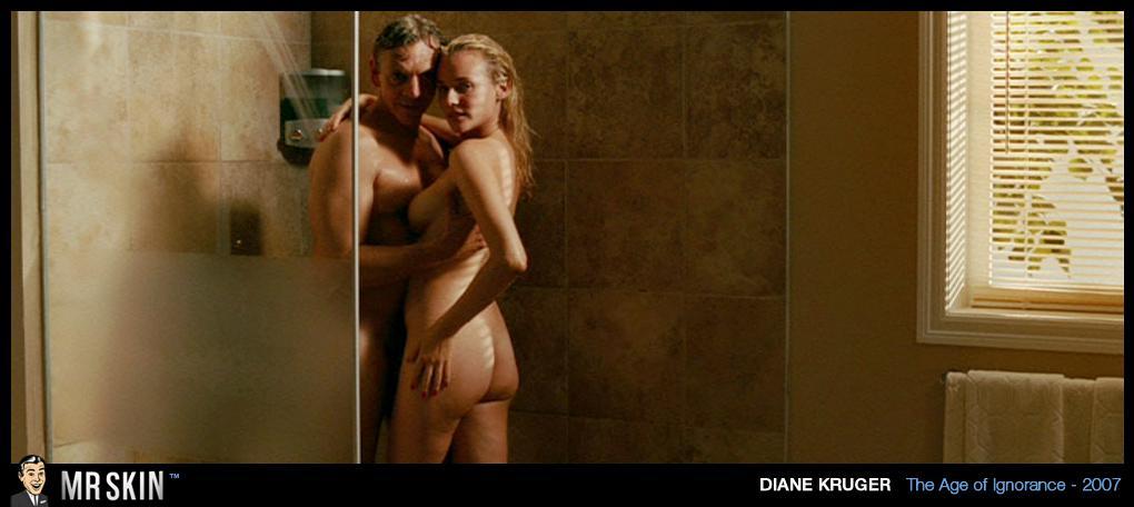Diane Kruger mostrando