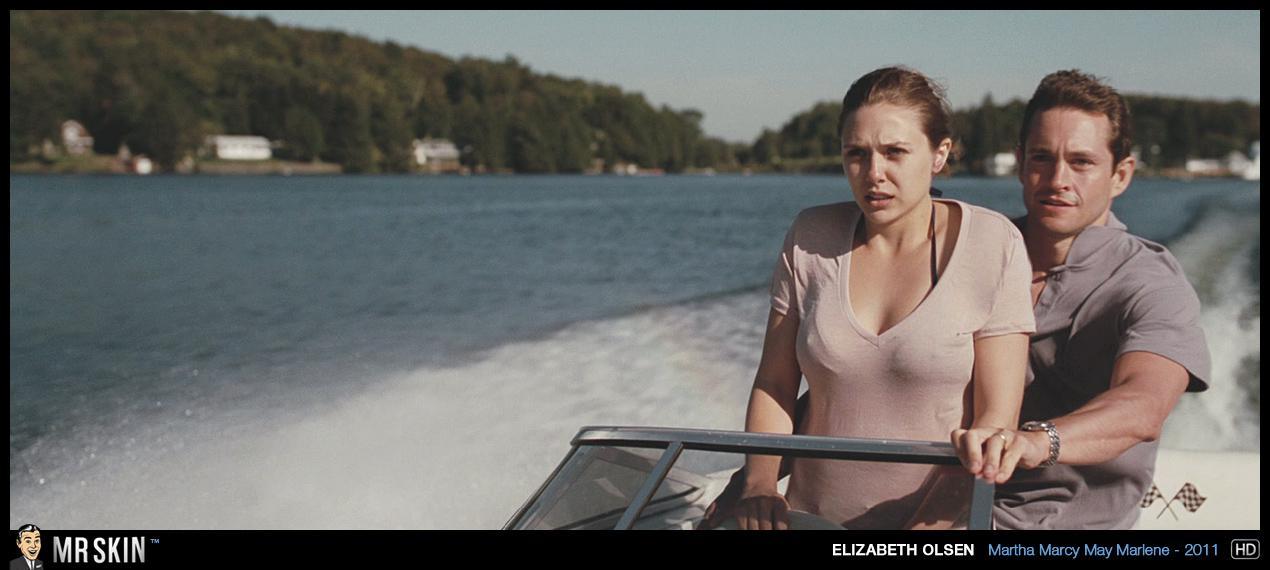 Elizabeth Olsen sexo en público