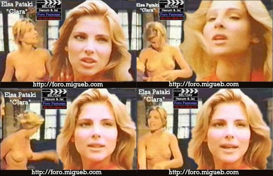Elsa Pataky pillada desnuda