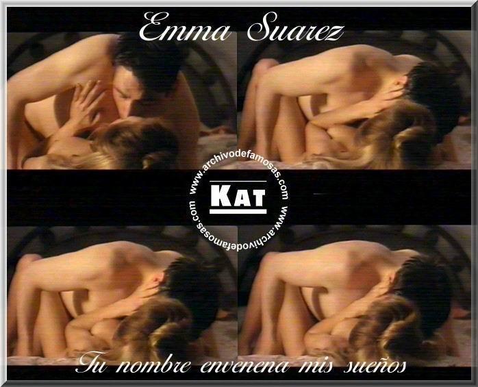 Emma Suarez cogiendo