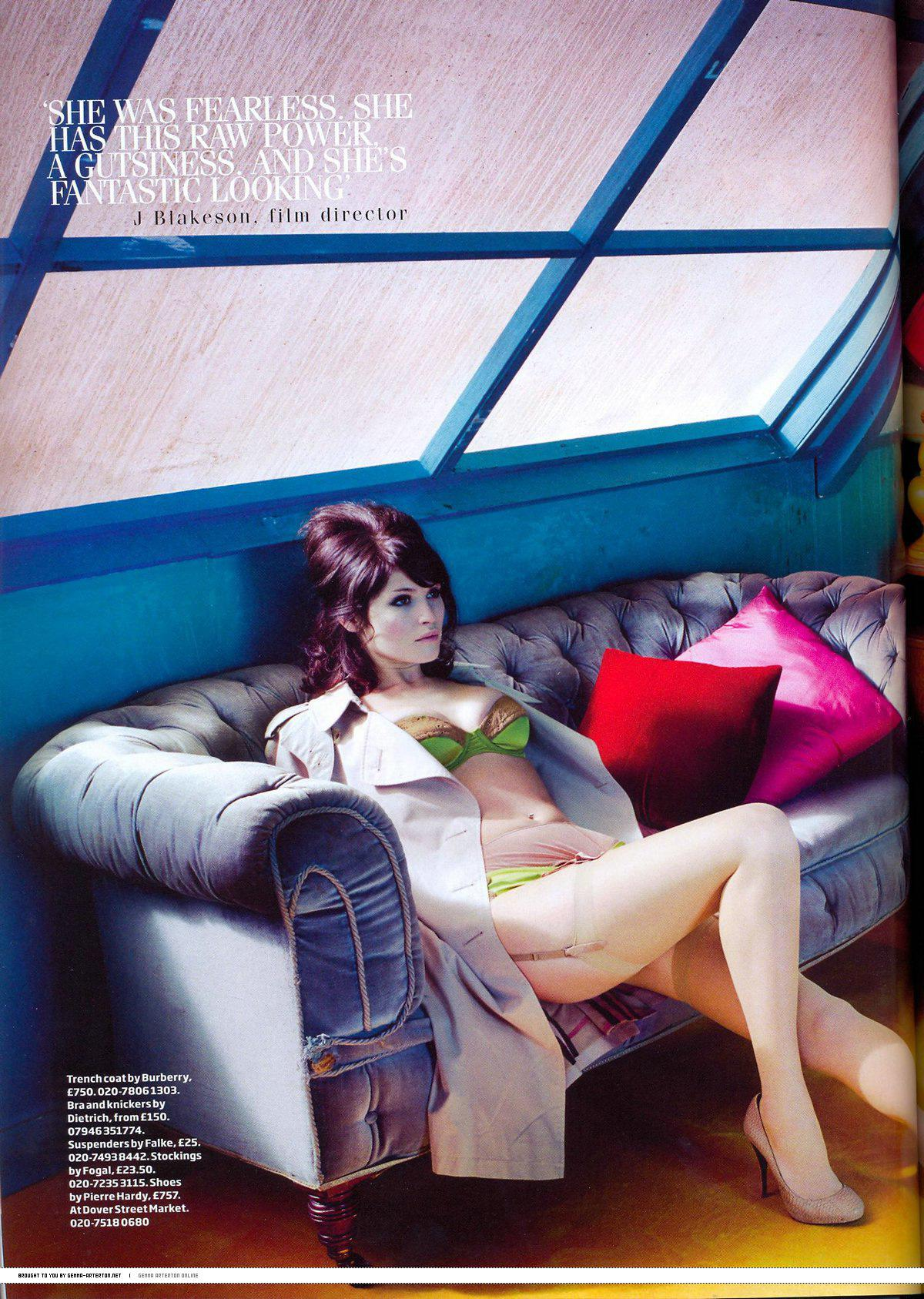 Gemma Arterton desnudarse