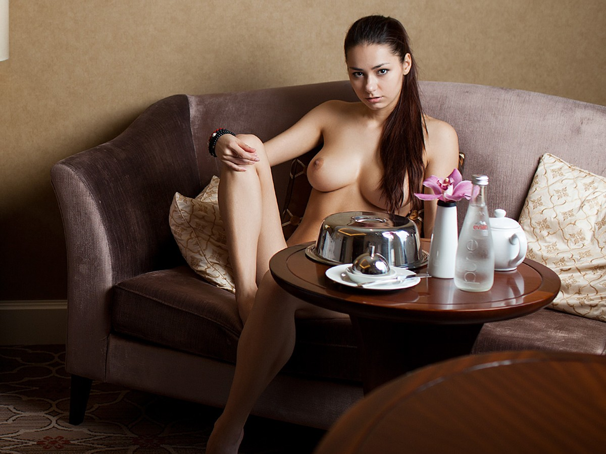 Helga Lovekaty topless