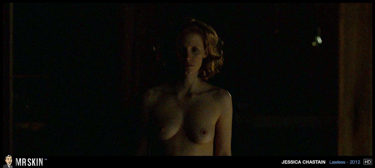 Jessica Chastain culonas