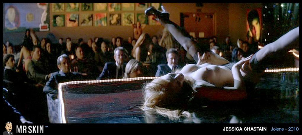 Jessica Chastain desnuda sin censura