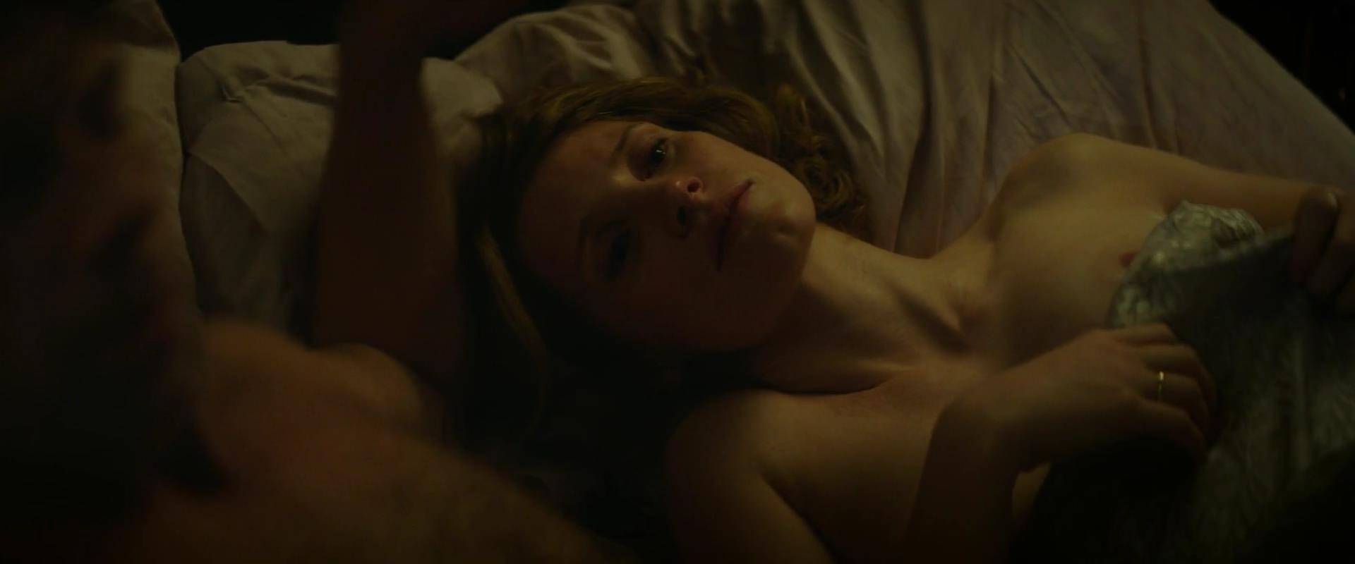 Jessica Chastain desnuda tetas 2