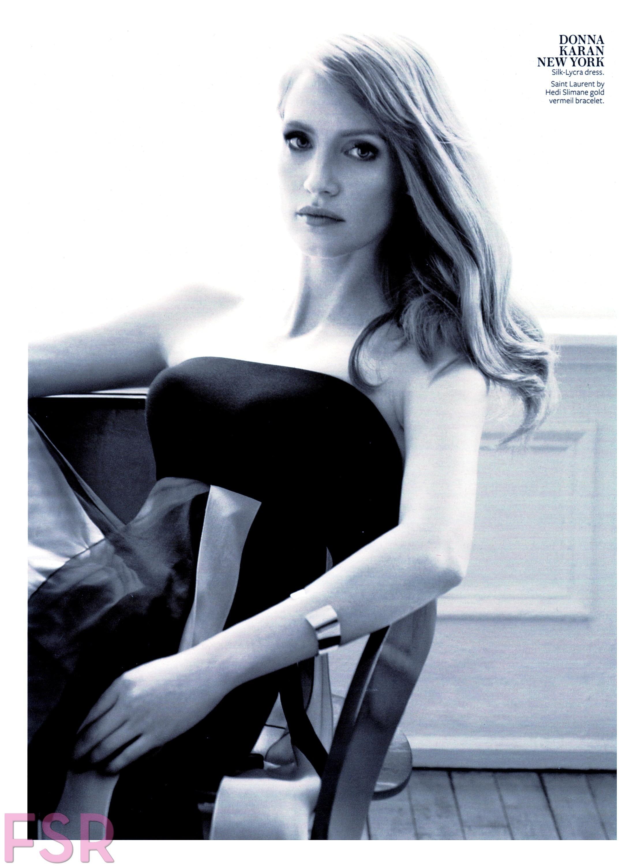 Jessica Chastain imagenes desnuda