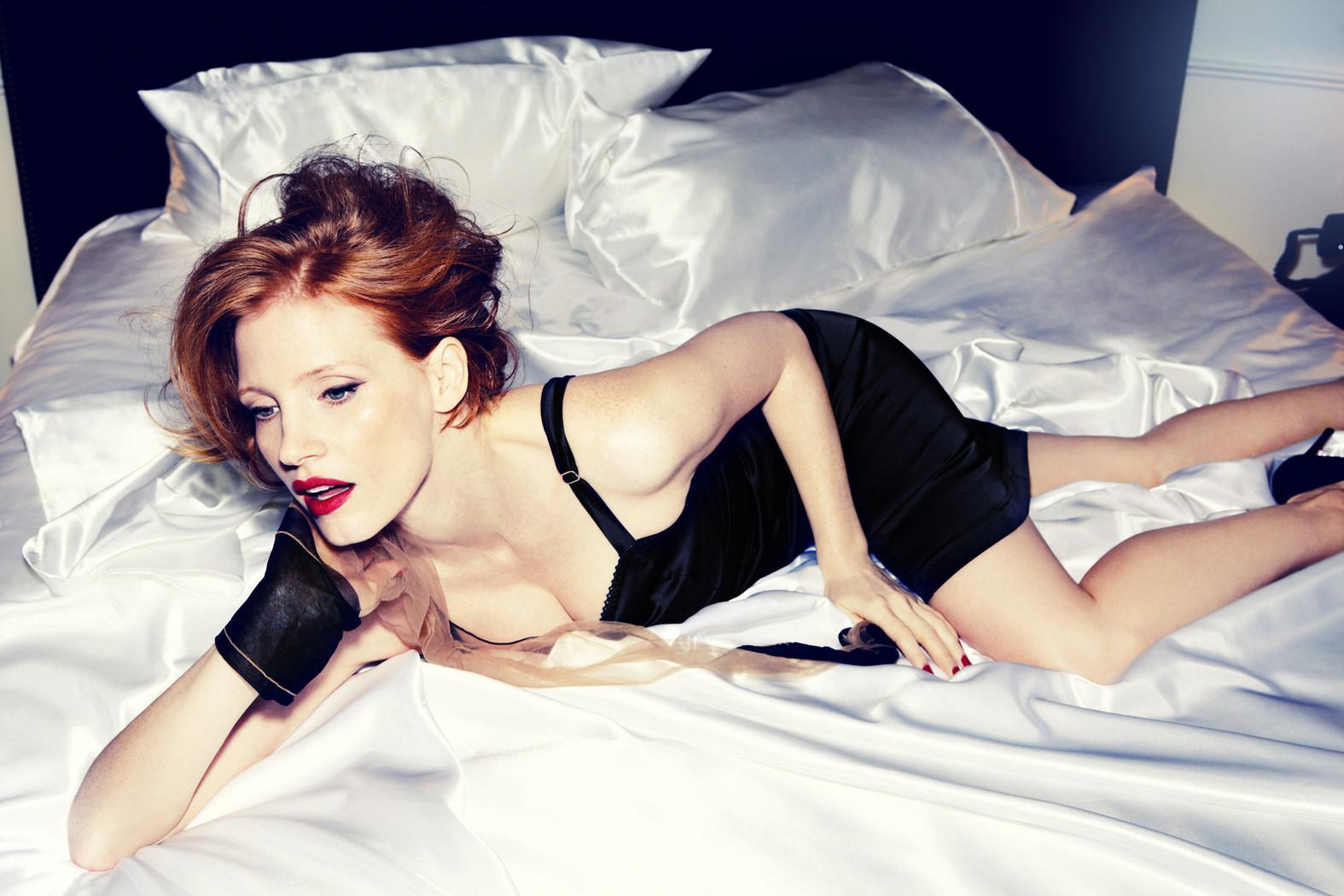 Jessica Chastain porno gratis 1