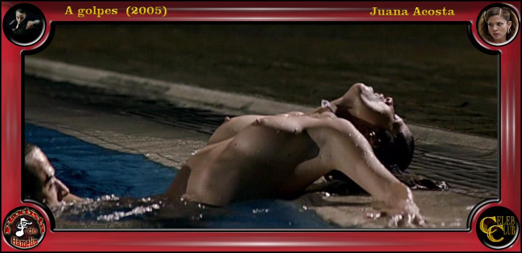 Juana Acosta desnuda follando