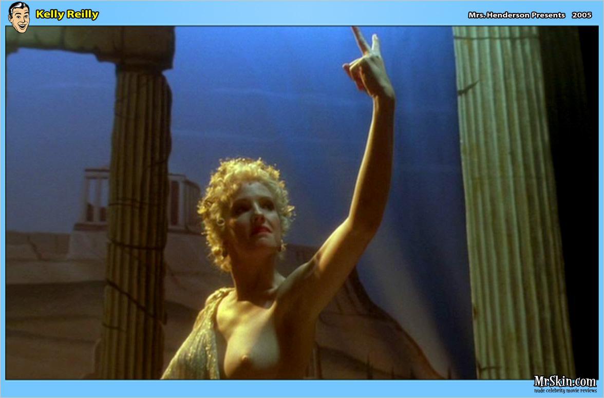 Kelly Reilly pillada desnuda