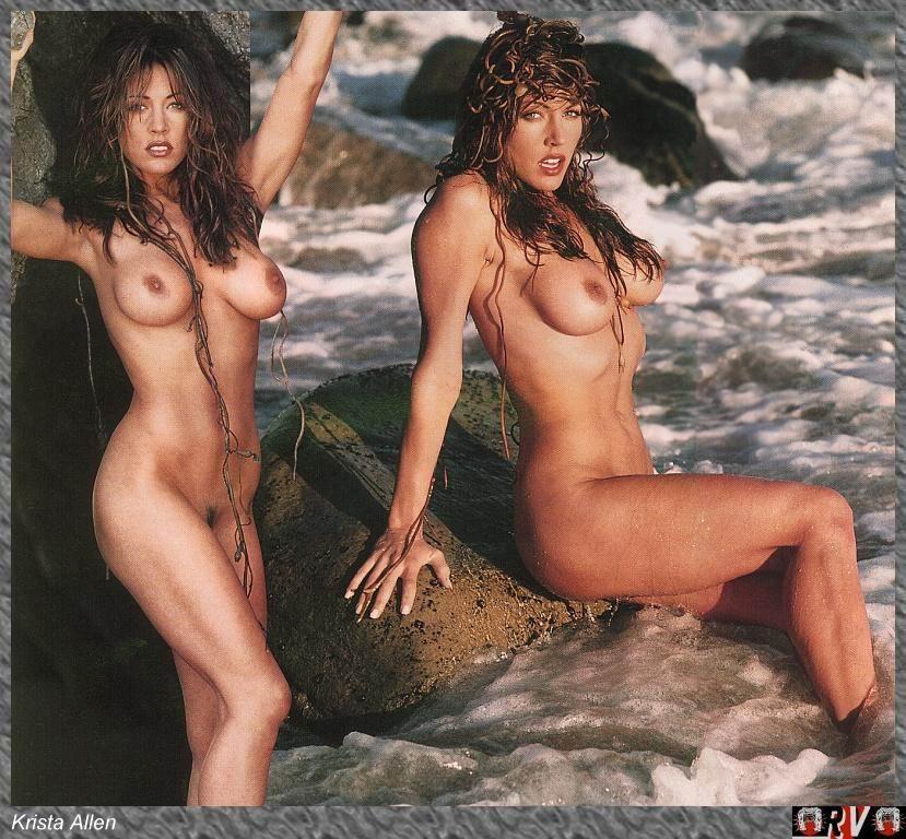 Krista Allen Posa Desnuda Ante La Cámara