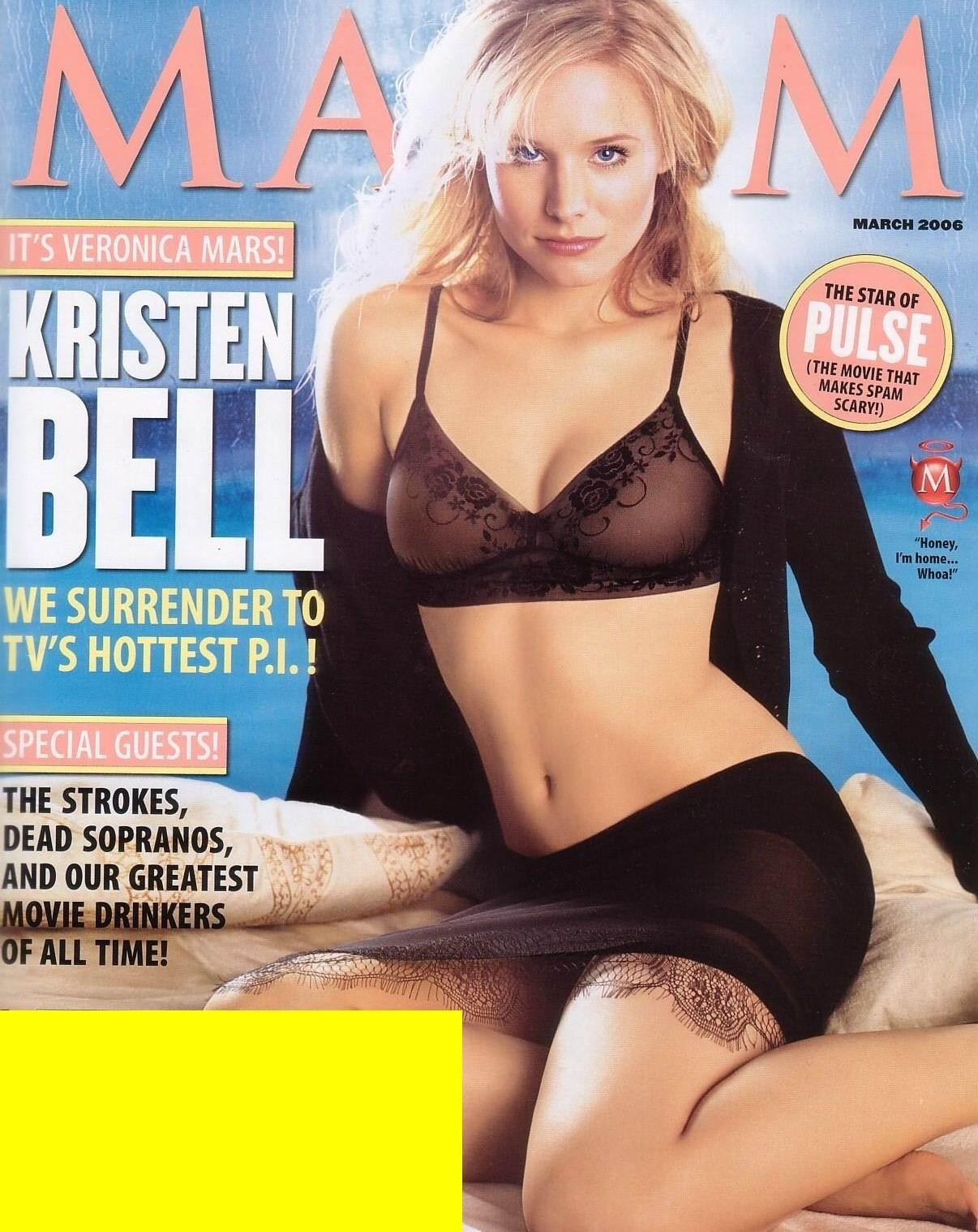 Kristen Bell dedos