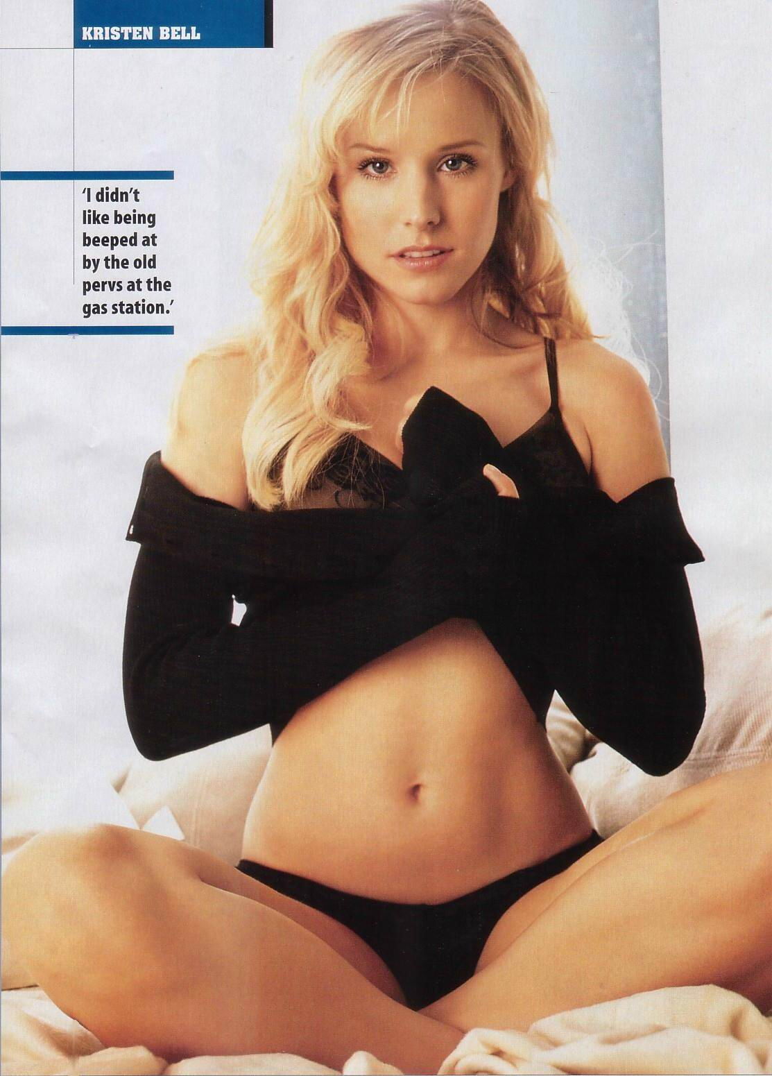 Kristen Bell desnuda tetas