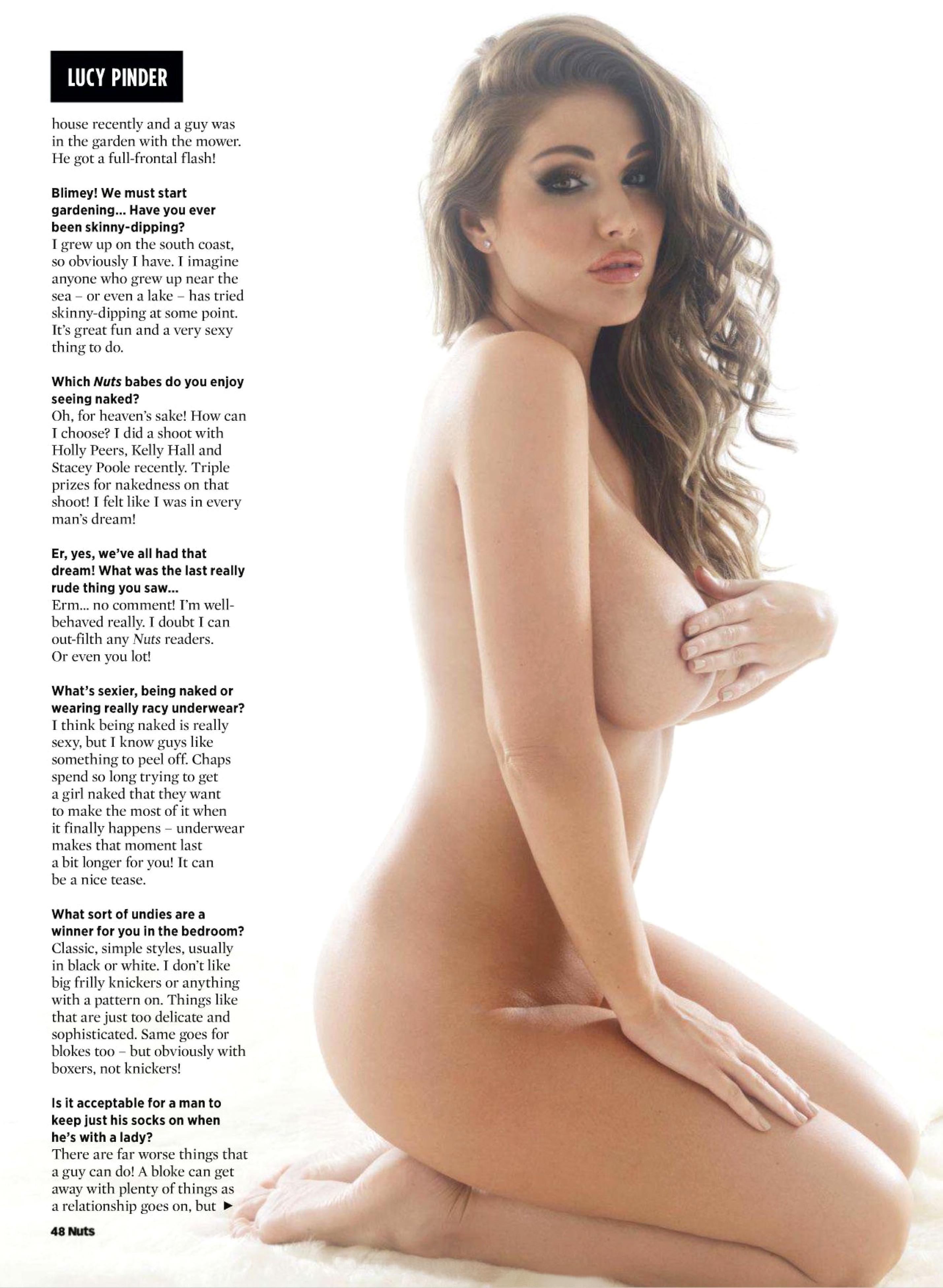 Lucy Pinder sin censuras 1