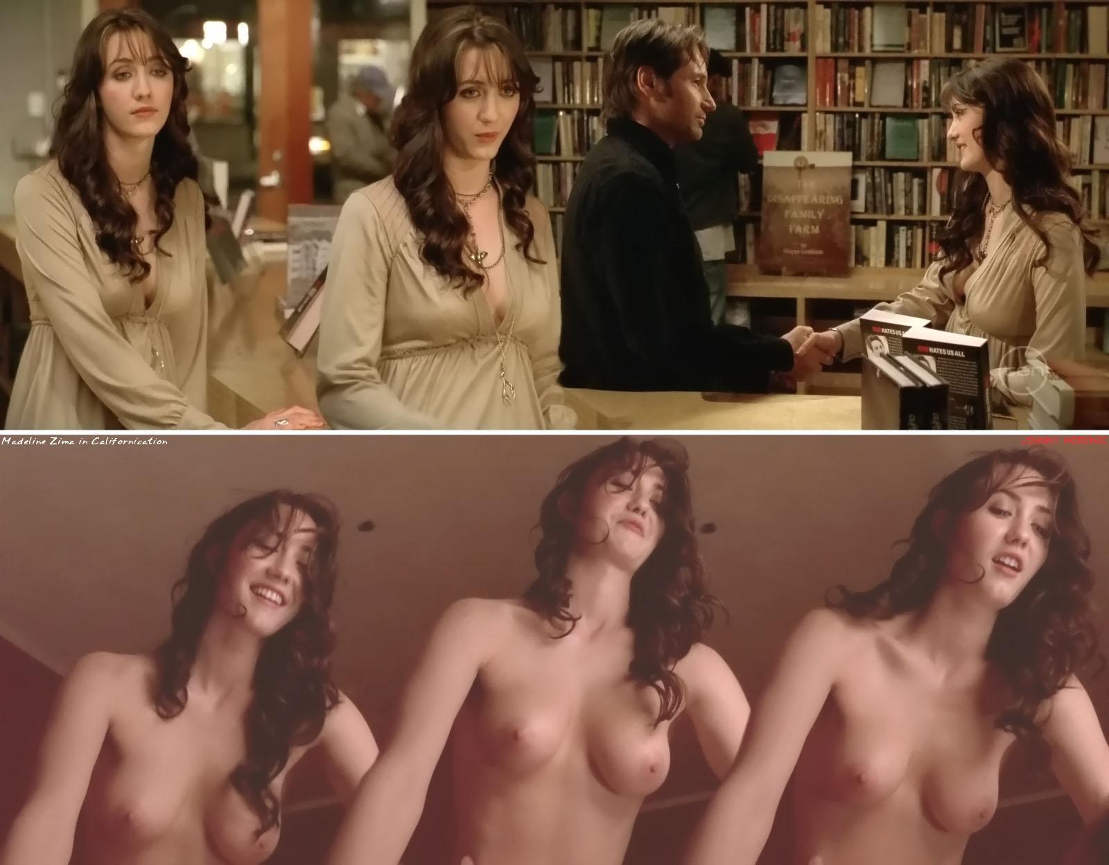 Madeline Zima sexo anal