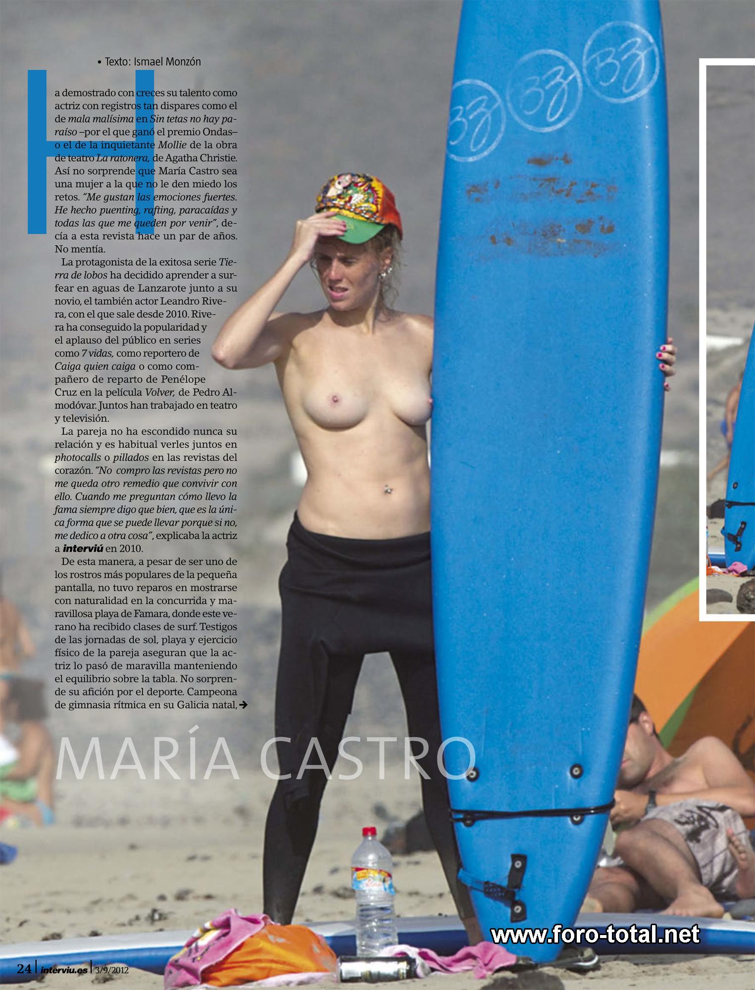 Maria Castro Compilación Desnuda