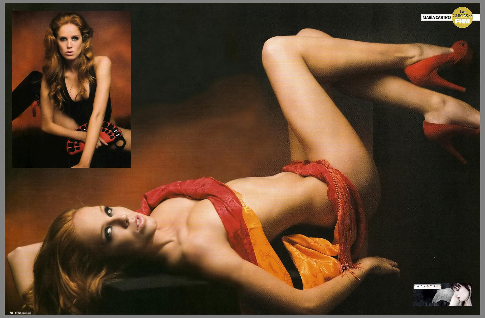 Maria Castro topless
