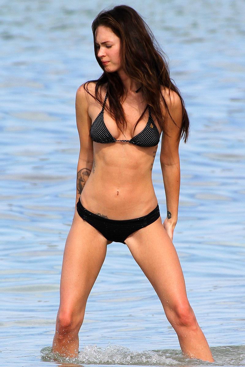Megan Fox pillada desnuda 2