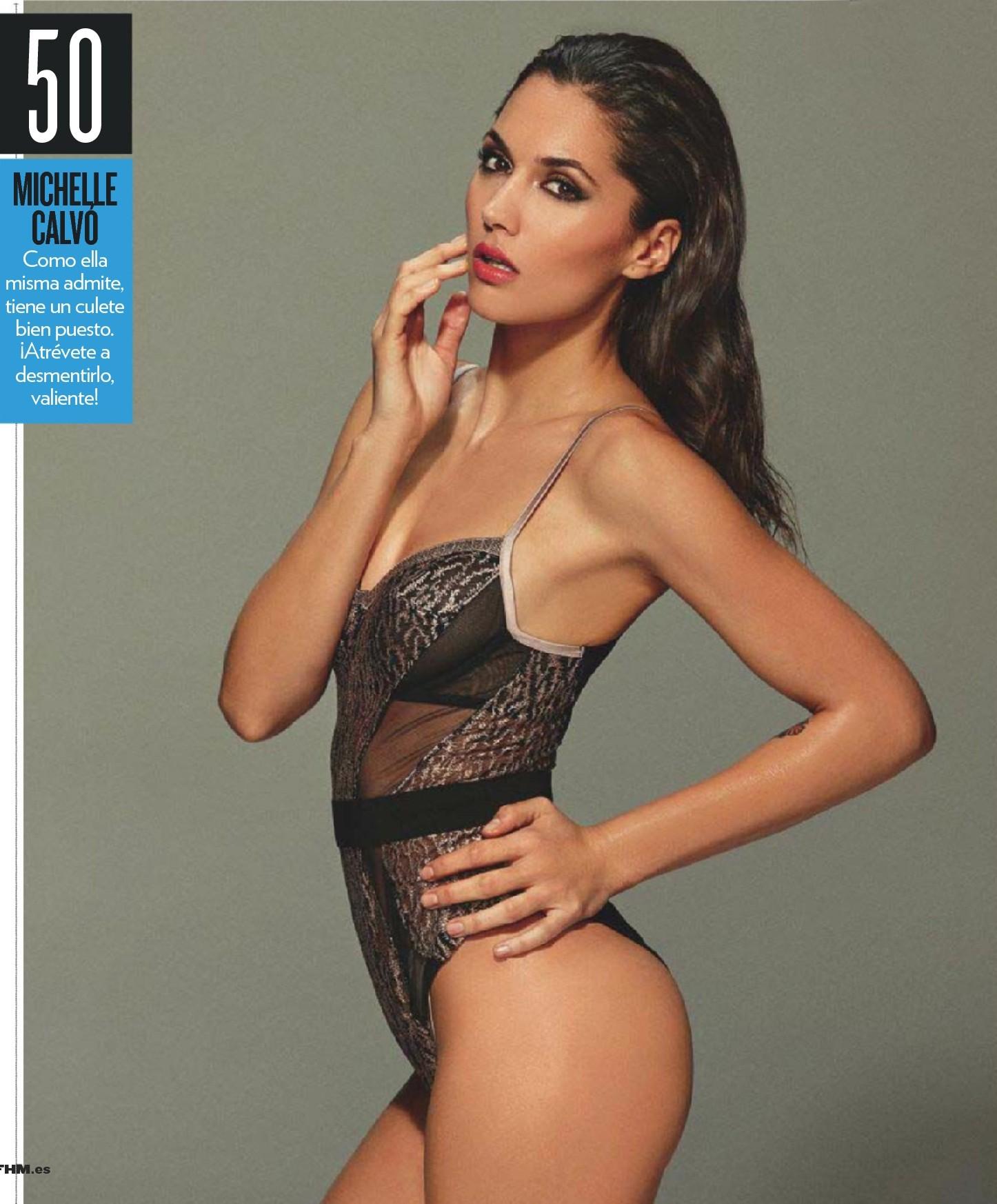 Michelle Calvo pillada desnuda